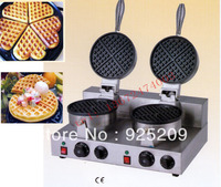 free shipping~double head for waffle maker machine 110v 220v fast shipping by Fedex