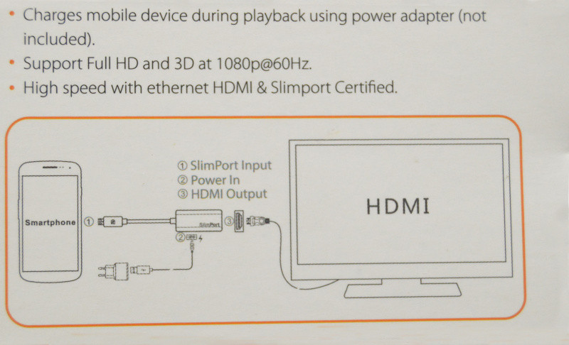 mydp slimport to hdmi