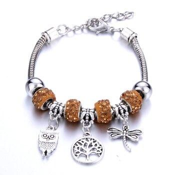 Arbre De Vie Bracelet Argent