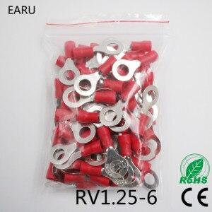 RV1.25-6 Red 22-16 AWG 0.5-1.5