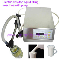 2016 New Style Digital Control Pump Liquid Filling Machine 3 3000ml For Olive Oil Fruit Juice