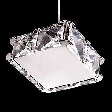 110V-220V Square Lighting LED Modern Crystal Chandelier Home Chandeliers,Lustres De Cristais,Lustre De cristal Free Shipping