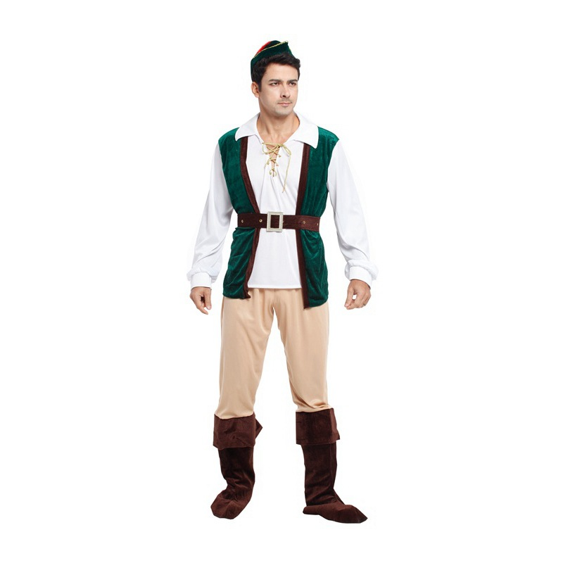 Special Design Men Halloween Costumes Peter Pan Cosplay Costumes Stage Performance Costumes Carnival Suits