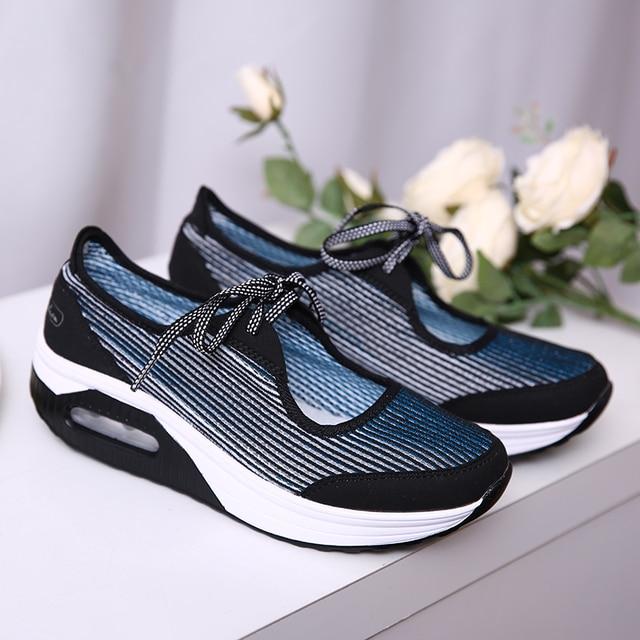 Basket superstar Wedge Heels Quality Designer luxury Women Casual Shoes Zapatos Mujer Plataforma Chaussure Femme Talon SZ7663