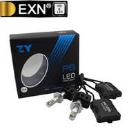 H7 High Quality 110W 10400LM LED Headlight H7 P6 Car LED Headlight H7 6000K 360 Degree Beam LED Headlamp Light Bulb H7 5000K LED