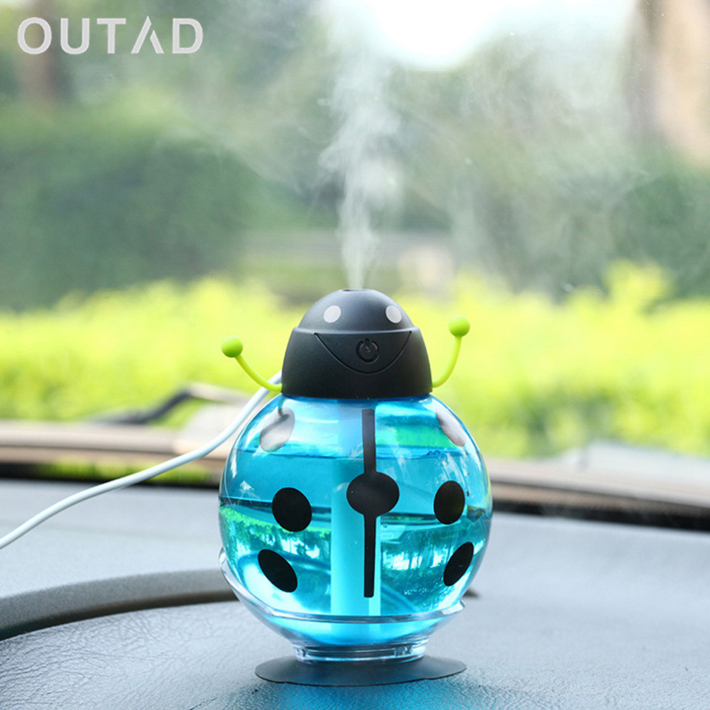 NEW USB Car Essential Oil Diffuser Air Freshener Ultrasonic Aromatherapy Diffusers Cool Mist Humidifier with Colorful LED Lights ракетка для настольного тенниса giant dragon karate st12401