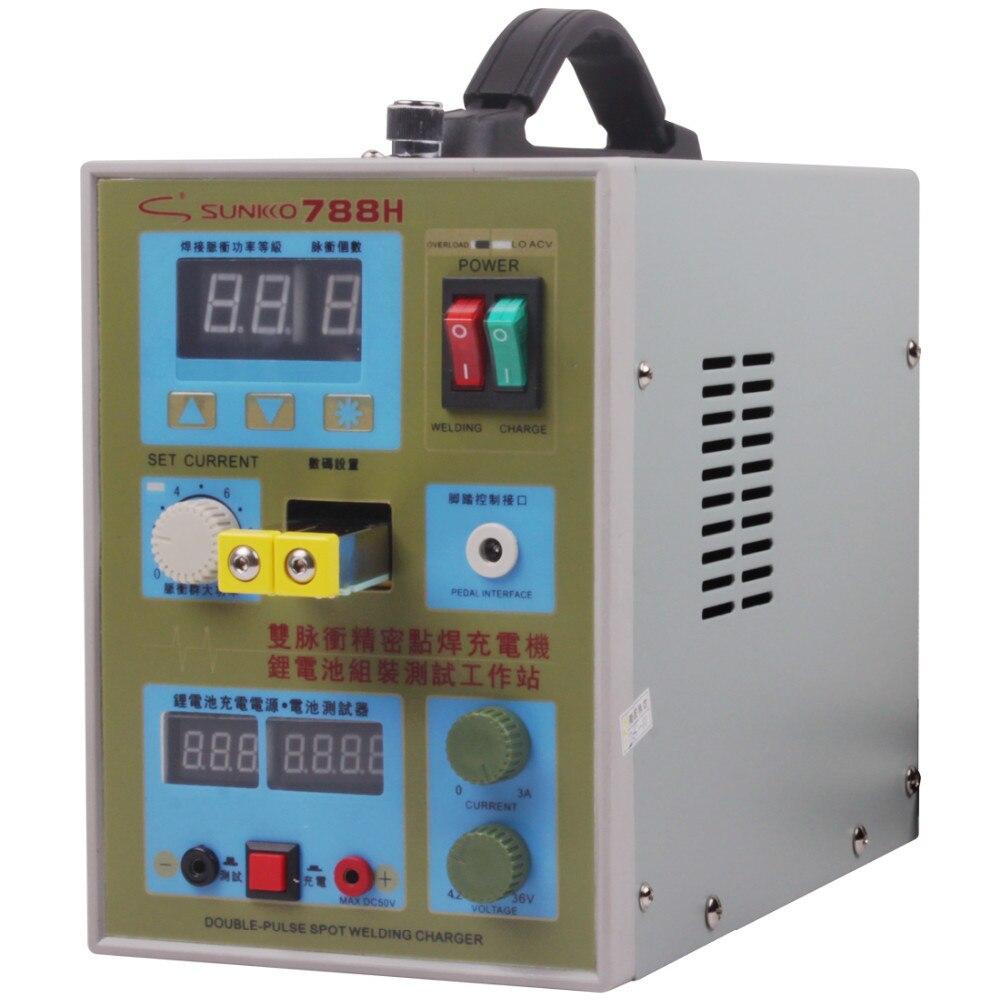 HOT Sale 788H Battery Spot Welder Welding Machine Double Pulse Precision Spot Welder Lithium Battery Test