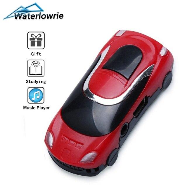Lecteur Mp3 mini musique voiture mp 3 Support 8G Micro TF carte lecteur MP3-player mode modèle mp 3 pour garçon enfant cadeau