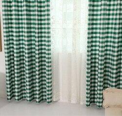 Nordycka czerń i biała chusta zasłony okienne pół tkanina chroniąca przed słońcem zasłony do sypialni i salonu