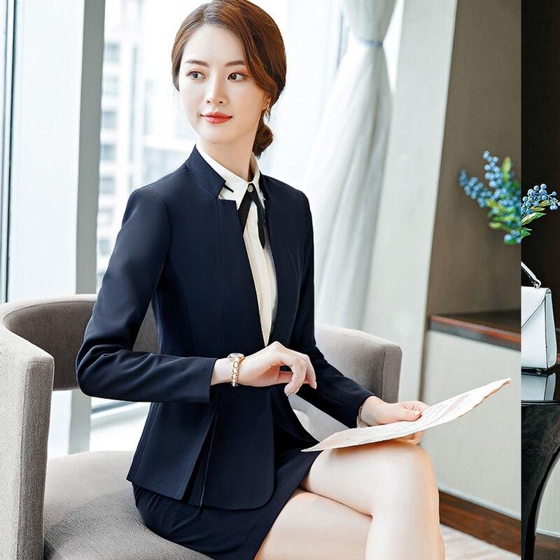La Version Plus De Tenue 3 Ensembles 1 4 Femmes Taille 2 Coréenne Tweed Pièces Couleur Ensemble 2019 5 Costume Deux Tempérament Unie Nouveau D'affaires xP6w7qw