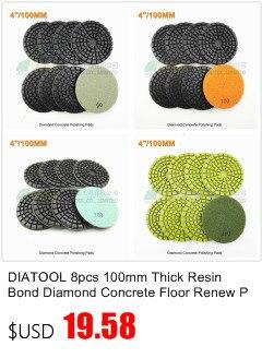 SHDIATOOL 9pcs 80mm chão diamante disco de