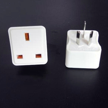 Multifunctional UK to AU Plugs Adapter EU Power Converter 3 Pin Socket  Travel