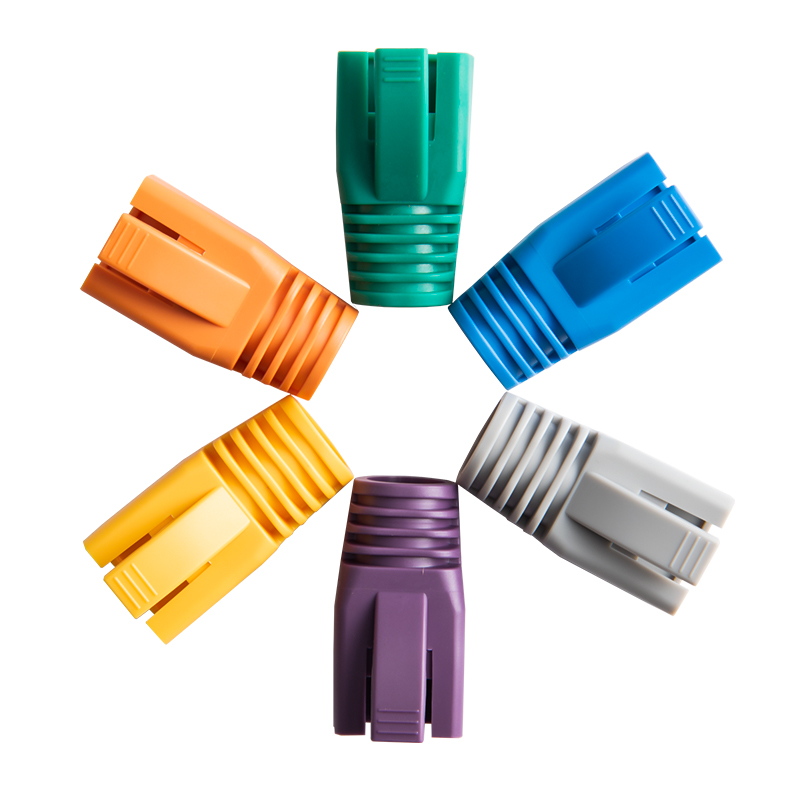 Big Size for Cable Outer Diameter 7.0-8.5mm 20pcs Cable Boots CAT6A CAT7 SFTP