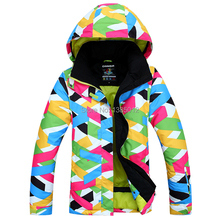 HOT!2016 New Gsou Snow Brand Womens Winter Skiing Jackets waterproof snowboard jackets Colorful Top Quality ski suits