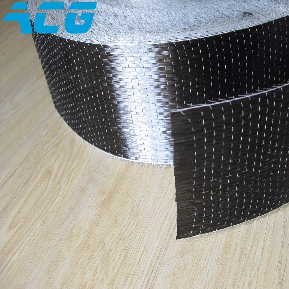 100m 12K UD Carbon fiber fabric cloth 300g Uni direction carbon fiber 10cm 20cm 30cm 50cm