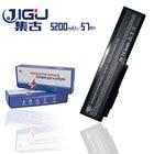 JIGU 5200mAH Laptop Battery For Asus G50T G51J M50S M50V M60J M60 N43J N53D N53J N61J X64V X55S 15G10N373800 70-NED1B2000Z