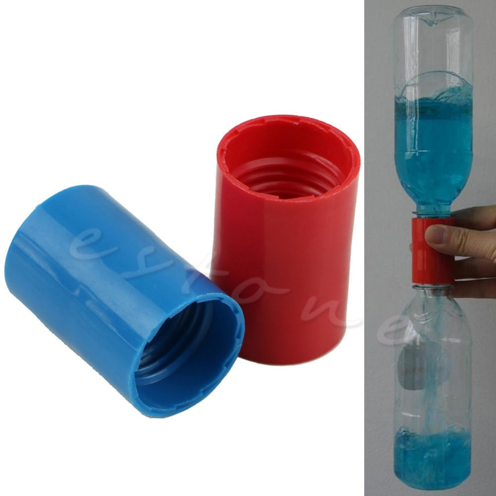 2Pcs Tornado Vortex Bottle Water Science Cyclone Tube Experiment Sensory New
