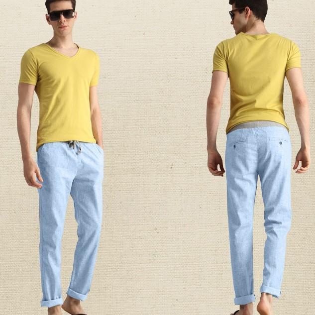 Бесплатная доставка Бренд Хорошее качество 2016 летний новый Горячие продажа взрыв модели Тонкий срез Мужчины Белье брюки Дешевые оптовая