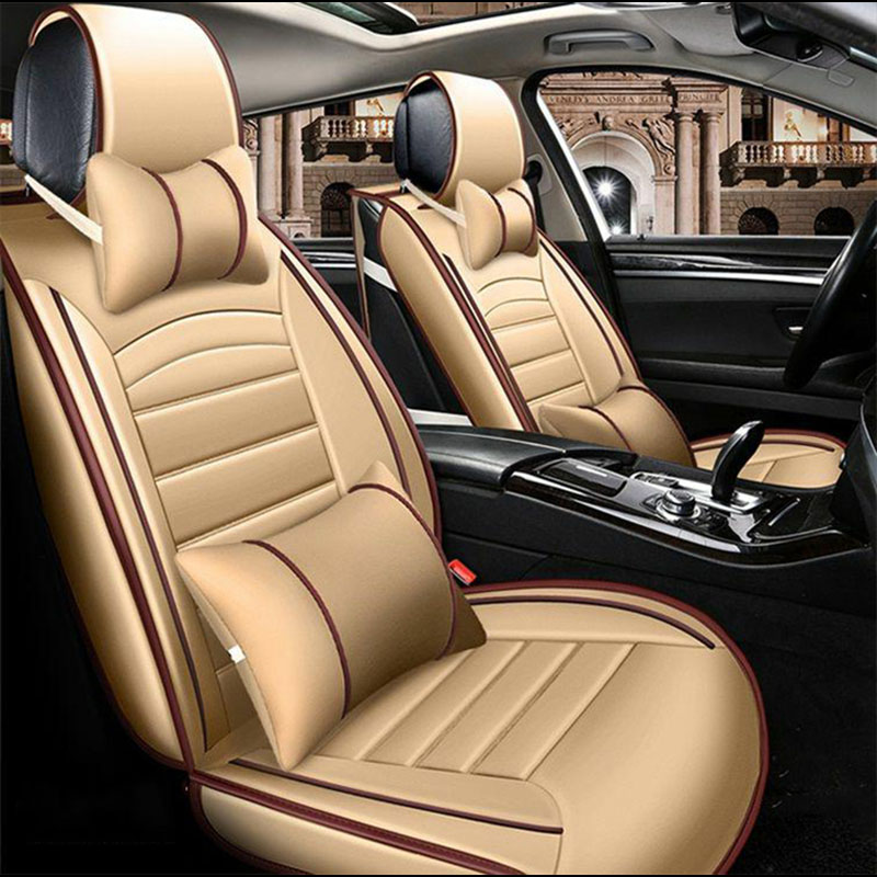 Universal car seat covers Auto Seat Covers for car accessories for Audi S7 S8 TTS SQ5 SQ7 TT RS Q3 RS3 RS4 RS5 RS6 RS7
