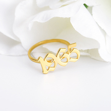 Custom Old English Year Number 1989 1998 1997 1995 1999 Year Ring Year Number Ring for Lovers Custom Rings необычные кольца siemens wm 14e447oe