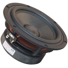 1 шт. Soundhits SL-651R 6,5 ''Среднечастотный динамик драйвер блок литья Алюминий рама из углеродного волокна конус 4/8ohm 60 Вт Fs = 43 Гц