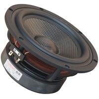 1PCS 2019 New Soundhits SL 651R 6.5'' Midrange Speaker Driver Unit Casting Aluminum Frame Carbon Fiber Cone 4/8ohm 60W Fs=43Hz|Speaker Accessories| |  -
