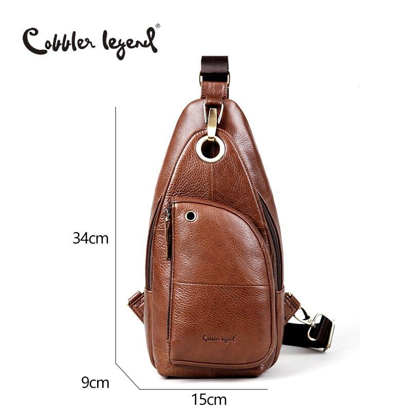 Cobbler Legend 2019 Brand Dizajner Muška Messenger Bag Jedna torba - Torbe - Foto 6