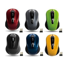 Hot Mini Small USB Wireless Mouse Optical Cordless Mice for Laptop Notebook PC
