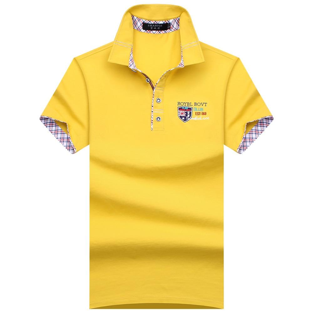 SHABIQI Classic Brand Men shirt Men Polo Shirt Men Short Sleeve Polos Shirt T Designer Polo Shirt Plus Size 6XL 7XL 8XL 9XL 10X