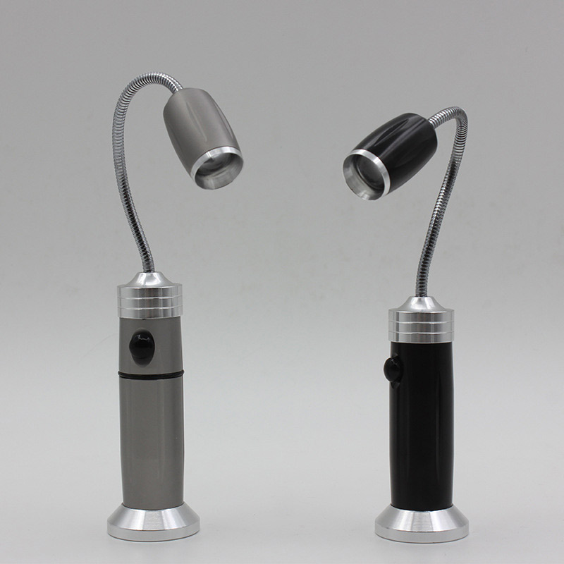 LED Strong Light Torch Flexible Magnetic Pick Up Finding Searching Tool Light Lamp Flashlight ALI88
