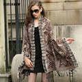Cashmere Rex Rabbit Fur Shawl Ponchos Fashion Fur Scarves&Trendy-style Shawl Cachecol Warm Solid Fashion Women Pashmina