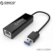 ORICO USB Ethernet-адаптер USB 3.0 сетевая карта USB к Ethernet RJ45 LAN Gigabit Интернет для портативных ПК Windows 7 8 10 XP MAC