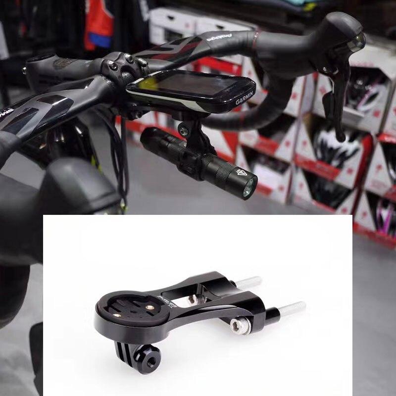 Bike Double Bolt Stem Mount font b GPS b font Bracket Extension For GARMIN Edge 1000