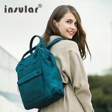 Insular For Baby Care Mummy Maternity Nappy Bag Brand Large Capacity Baby Bag Travel Backpack Desinger Nursing Bag