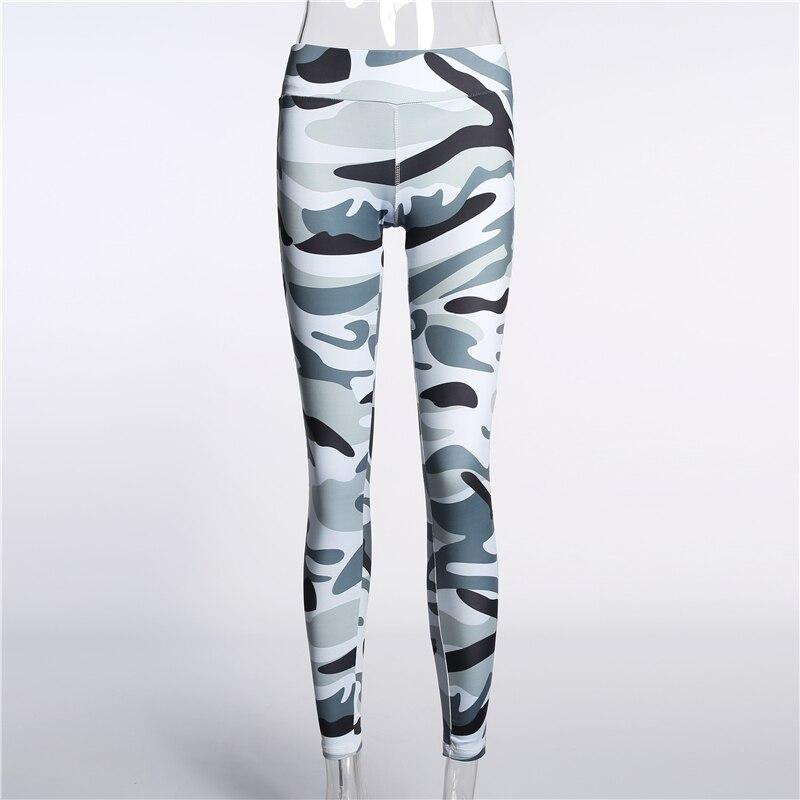 Fitness Leggings Camo: Skinny Camouflage Fitness Leggings