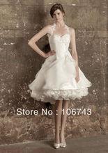 free shipping 2013 new style hot sale Sexy bridal wedding sweet princess Custom size embroidery ruffles white Bridesmaid Dresses