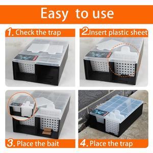 Image 4 - 連続マウストラップなしキルマウスラットキャッチャーリサイクルプラスチック複数マウスマウストラップ