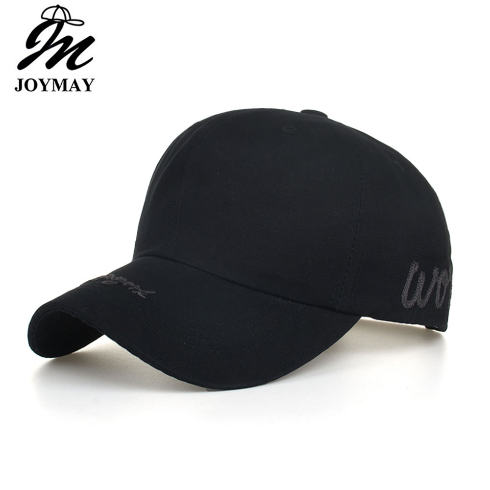 cac40a182 Casual Letter M Black Solid Baseball Caps Men Women Outdoor Trucker ...