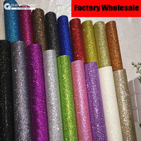 2015 New Style Very Light Silver Fabric Glitter Wallpaper Roll Wall Paper