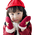 Winter Children Gloves Kids Boys and Girls Gloves Thicken Warm Baby Gloves with full fingers for 2 to 5 Years old New Year Gifts