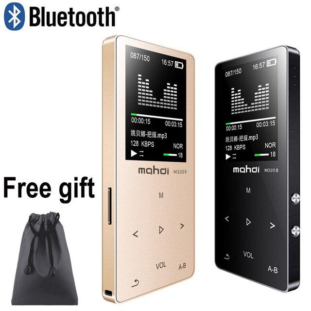 מהדי HIFI Lossless Bluetooth MP3 נגן מקליט FM וידאו ספר אלקטרוני 4G/8G/16G רדיו ספורט אלחוטי מוסיקה נגן תמיכה OTG קישור