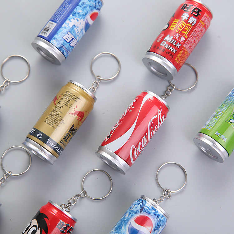 1 Pcs Stationery Ballpoint Pen Cola Drink Pen Retractable Cans Ballpoint Pen Manufacturers Wholesale Mobile Phone Eraser YZB019G