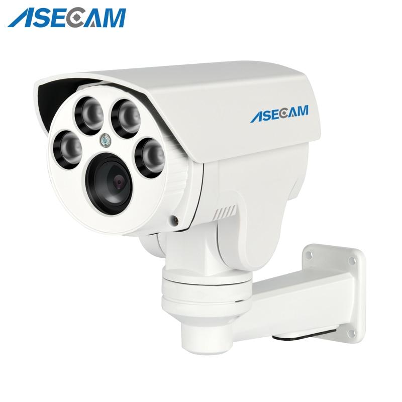 HD IP Camera 1080P PTZ IMX322 CCTV Onvif 4X Auto Zoom Varifocal Lens 2 8 12mm
