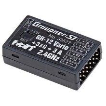 Граупнер GR-12 3xG + 3A + 6 Канал 2.4 ГГц HoTT Приемник и Контроллер Полета/Vario 2.4 ГГц Гироскопа приемник