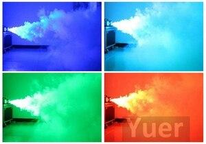 Image 5 - Chất Lượng Cao 1500W RGB Sương Mù Ứng Sân Khấu Khói Máy Điều Khiển Từ Xa Máy Khói Disco Ánh Sáng Sân Khấu Sương Mù Djequipment