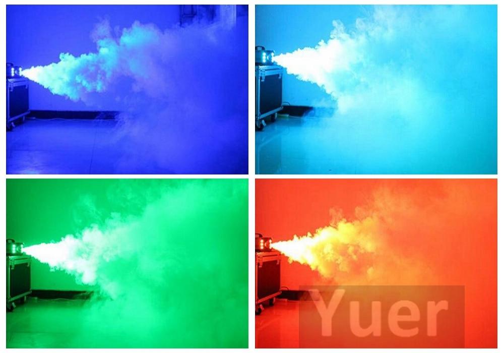Image 5 - High Quality 1500W RGB LED Fog Stage Effect Smoke Machine Remote Control Smoke Machine Disco Stage Lighting Fog DJEquipment-in Stage Lighting Effect from Lights & Lighting