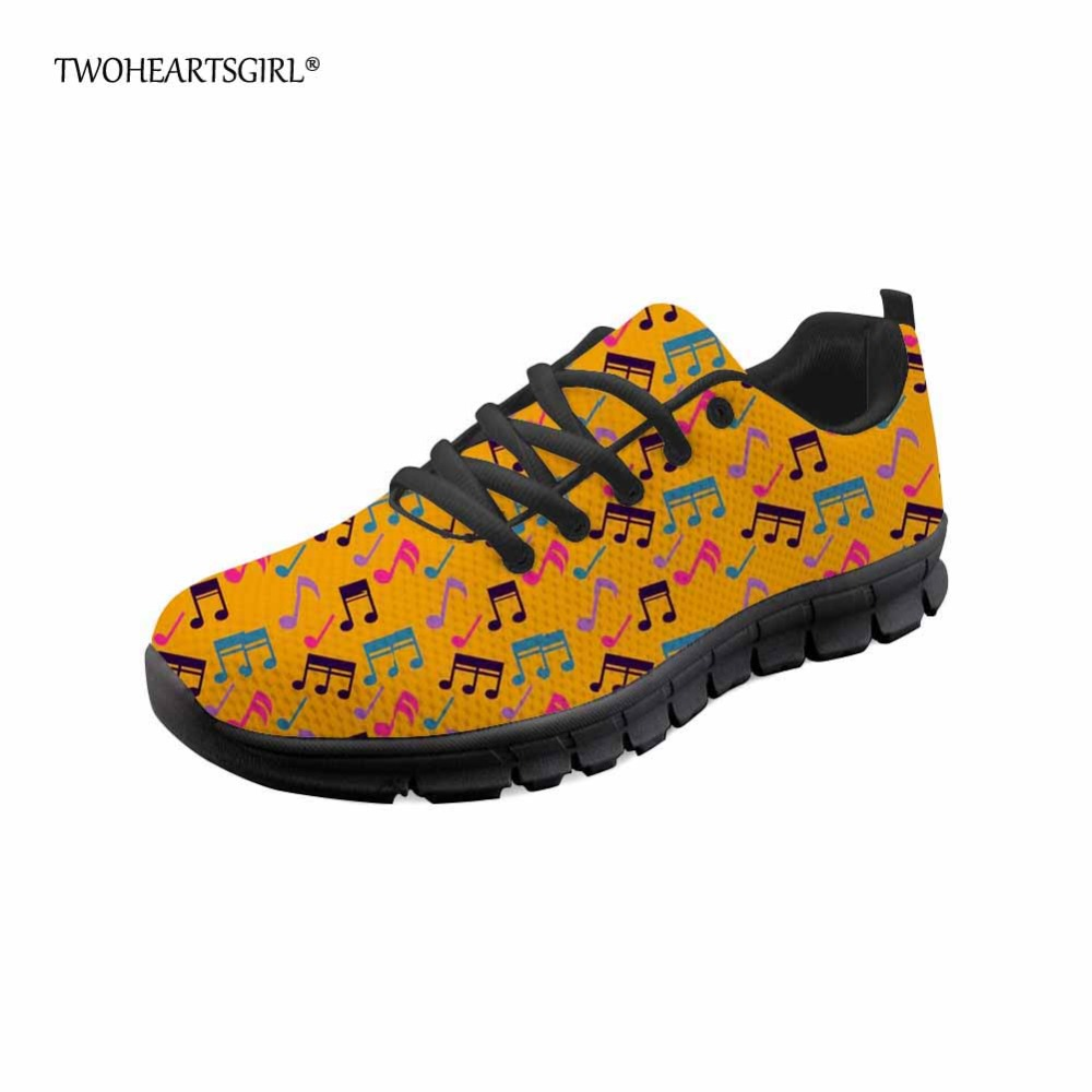 z2635baq Chaussures z2634baq Femelle Notes z2631baq D'été Femmes Sneakers Frais Respirant Musique z2633baq Your Orange Dames z2637baq z2636baq Appartements Coloré Maille Iamge Twoheartsgirl Pg0qfHA