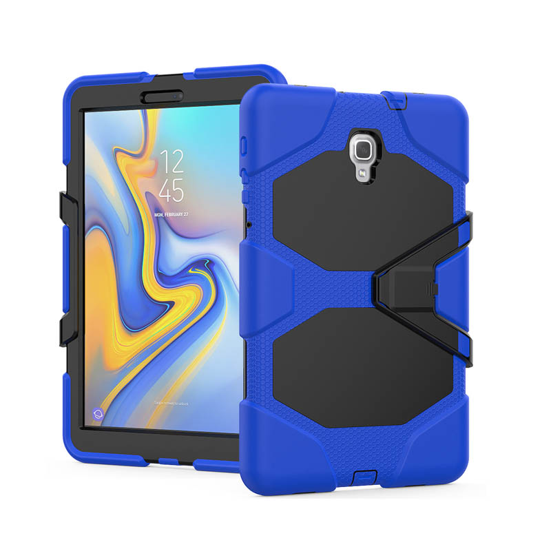 100PCS Lot Hybrid Full Protector PC Silicone Cover For Samsung Galaxy Tab A 10 5 S4