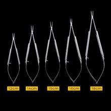 Хирургический стоматологический ортодонтический имплантат кастровиехо иглы держатели инструмент прямая головка стоматологические инструменты