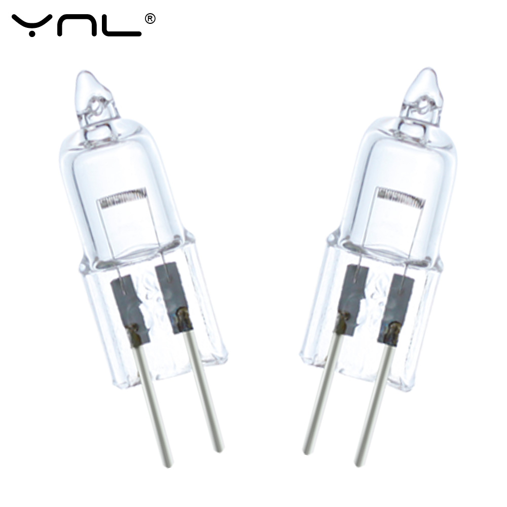 20Pcs Halogen G4 20W DC 12V Replace Bombillas LED Lamp Lampada Ampoule Crystal Lampara Celling Lamp Chandelier Wall Light Bulb